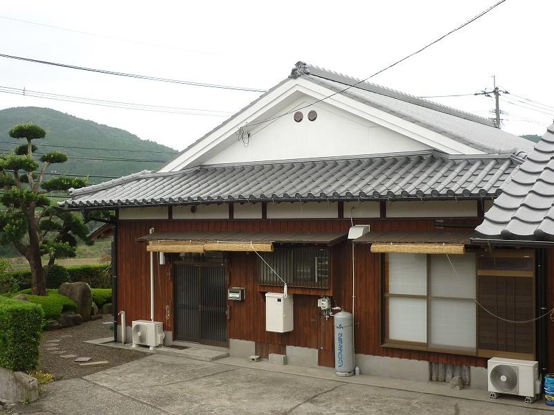 屋根、妻壁の塗装リフォーム
