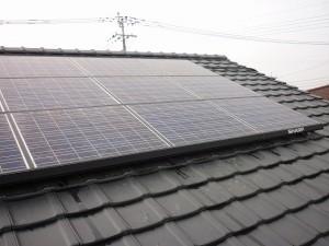 シャープ太陽光パネル設置