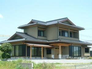 濱田瓦施工例2